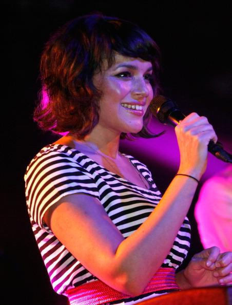 AUSTIN, TX - MARCH 17: Musician Norah Jones performs onstage at Music Showcase during the 2012 SXSW Music, Film   Interactive Festival at La Zona Rosa on March 17, 2012 in Austin, Texas. (Photo by Dustin Finkelstein/WireImage)