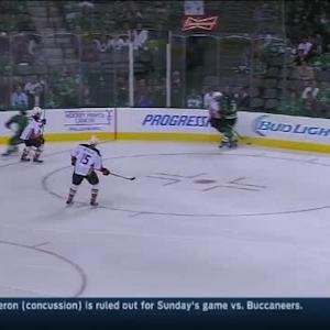 Erik Cole Hit on Patrick Maroon (02:15/1st)