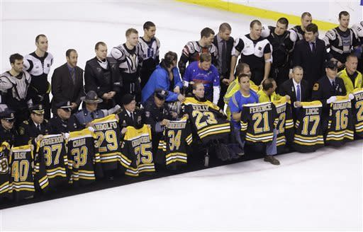 Bruins end slide with 3-0 win over Panthers