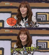 Han Sun Hwa talks about her thoughts about marriage