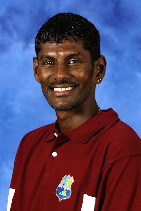 Mahendra Nagamootoo of the West Indies