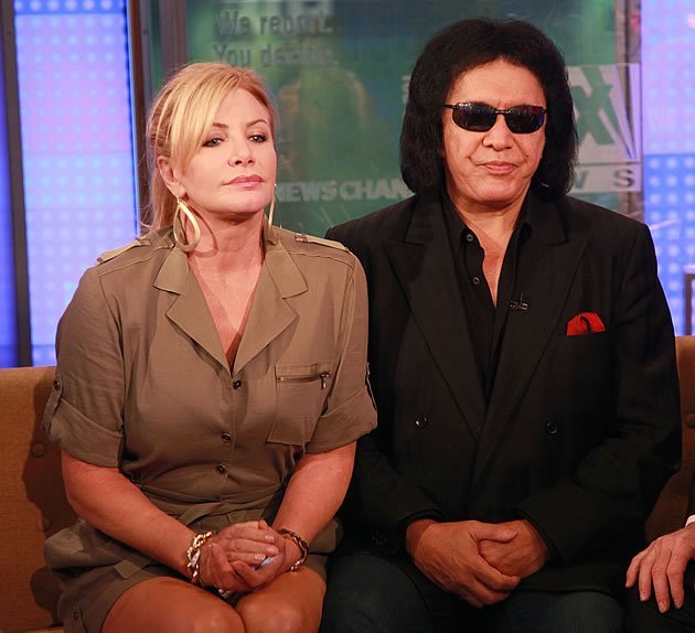 Gene Simmons e Shannon Tweed/Foto Getty Images