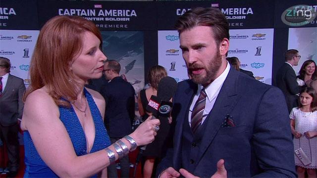 'Captain America: The Winter Soldier' Red Carpet Premiere: Chris Evans