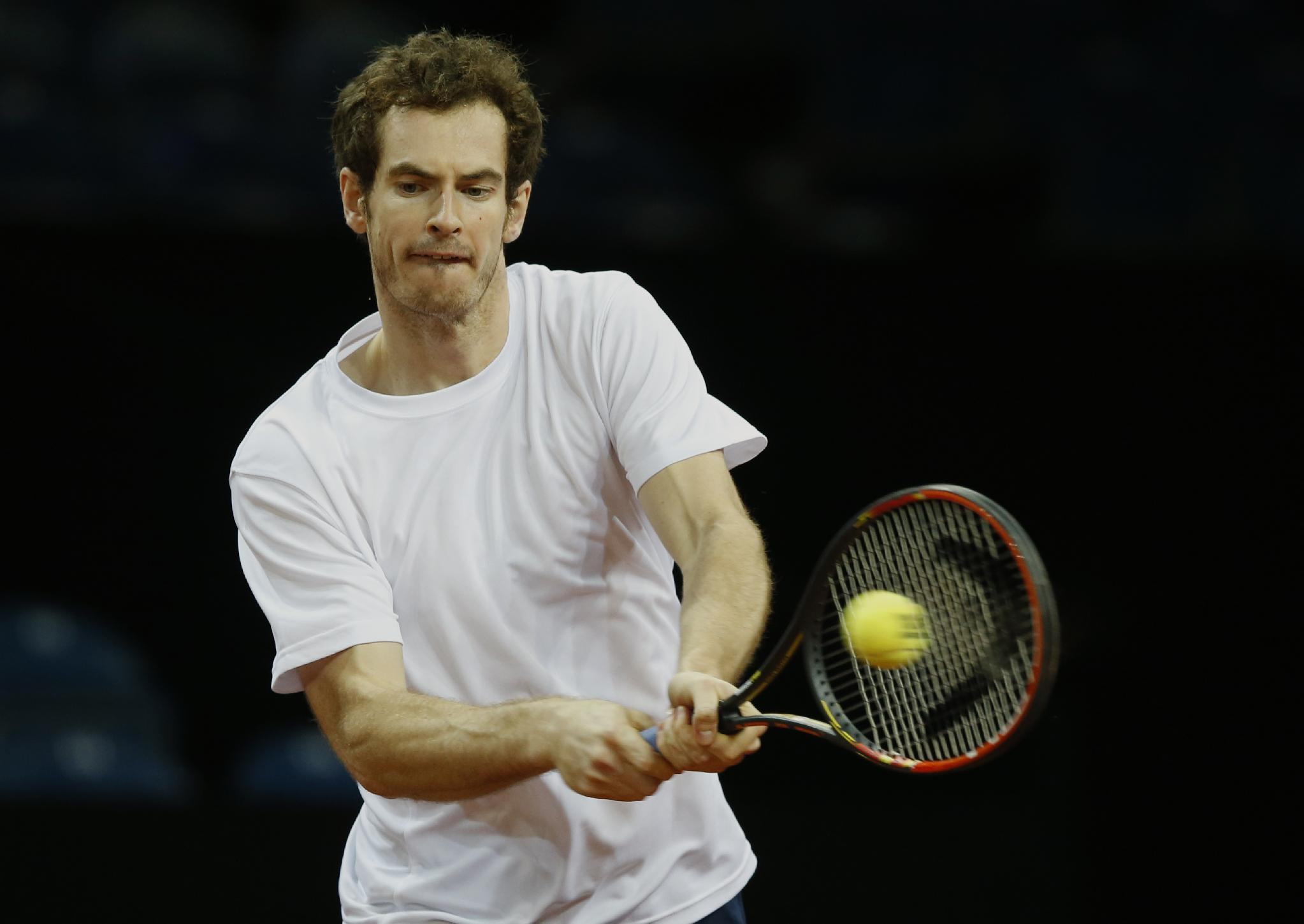 Andy Murray leads Britain's Davis Cup bid against Belgium