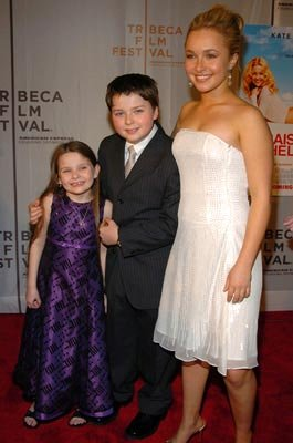 Abigail Breslin, Spencer Breslin and Hayden Panettiere Tribeca Film Festival, May 1, 2004