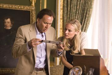 Nicolas Cage and Diane Kruger in Walt Disney Pictures' National Treasure: Book of Secrets
