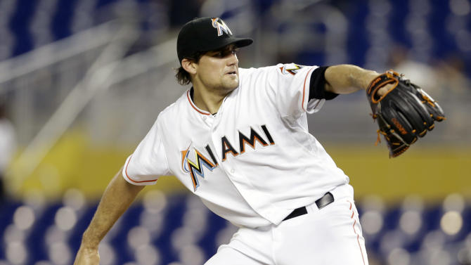 Marlins pummel Harang to beat Braves 9-3