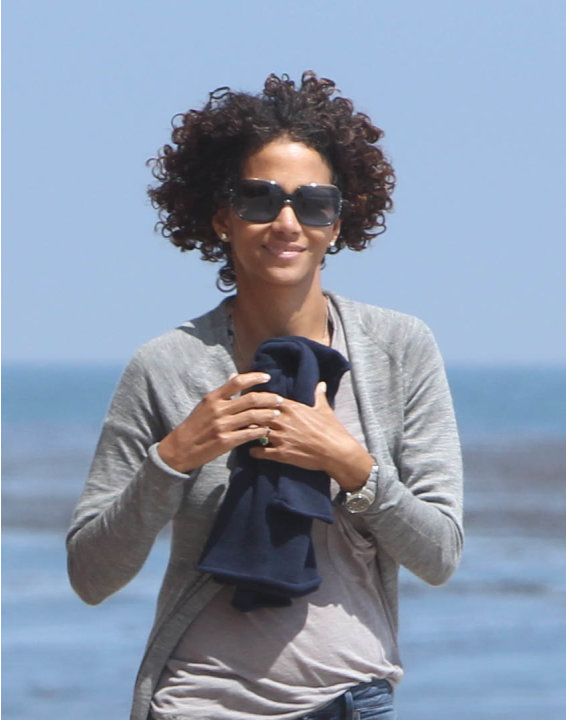 El pelo largo de Halle Berry