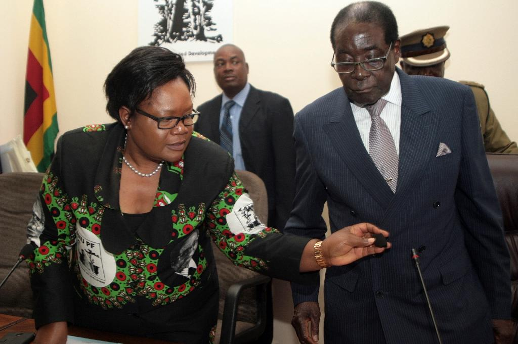 Seven sacked, 13 suspended in Zimbabwe ruling party purge