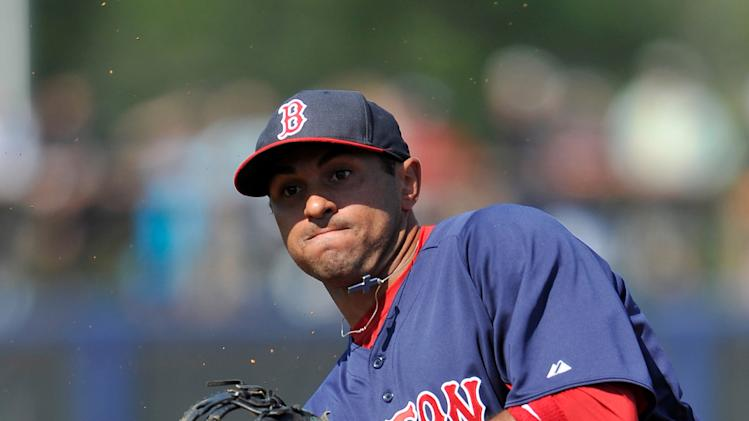 MLB: Spring Training-Boston Red Sox at Tampa Bay Rays