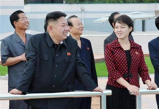 North Korean media identifies Kim Jong-un's official wife