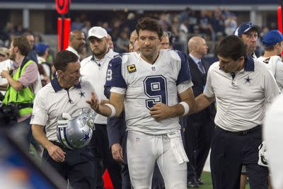 The Cowboys aren't totally giving up on Tony Romo's season