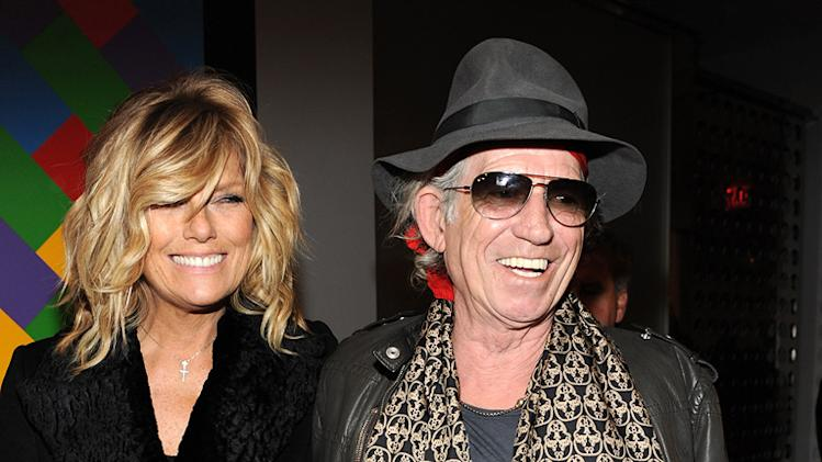 The Rum Diary NY Premiere 2011 Keith Richards