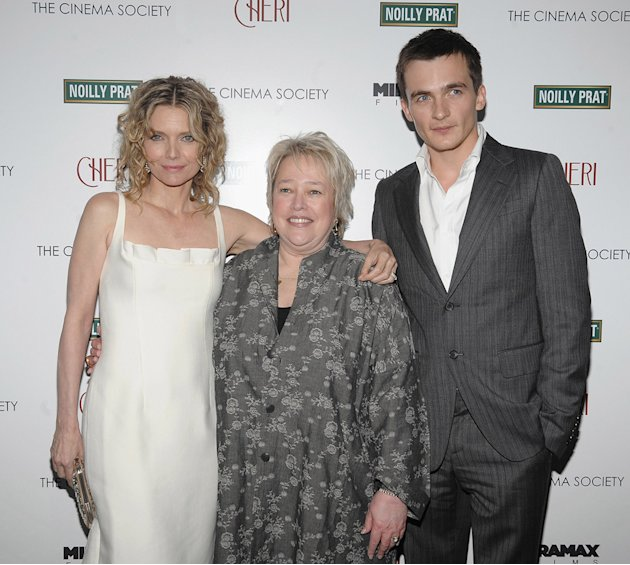 Cheri NY Screening 2009 Michelle Pfeiffer Kathy Bates Rupert Friend