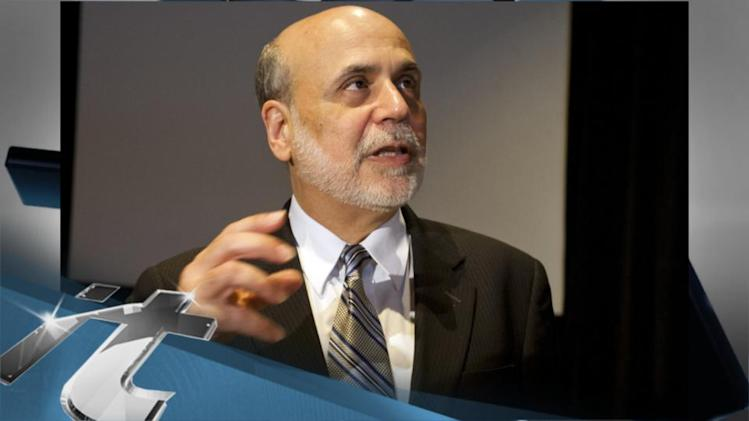 Dow Jones Industrial Average Latest News: Wall Street Futures Get Bernanke Boost