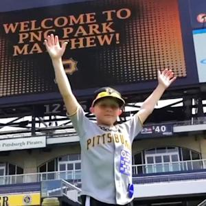 Make-A-Wish boy gets contract with Pirates for a day