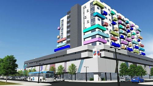 Colorful Apartment Complex Proposed for Little Havana