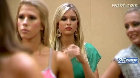 Blind beauty competing in this weekend's Miss Florida USA pageant