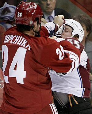 Doan, Gordon lead Coyotes 6-1 rout of Avalanche