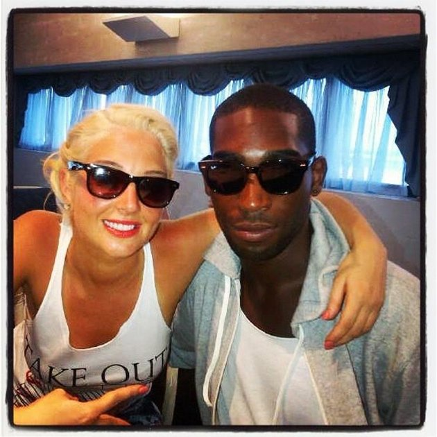 "Celebrity photos: Tulisa spent some time hanging out with her mate Tinie Tempah this week. She tweeted a photo of the pair on holiday, alongside the caption: ""St.Lucia Mofos with my boy @TinieTempah."""