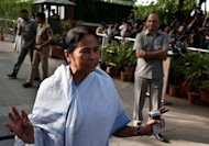 Trinamool party leader Mamata Banerjee, pictured here in June, said Trinamool&#39;s six ministers would submit their resignations on Friday and its 19 MPs would cease to offer support in parliament