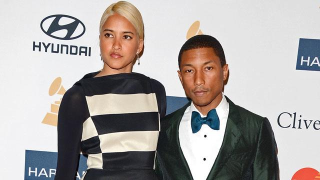 Pharrell Marries Longtime Girlfriend