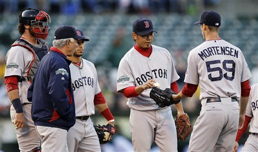 Red Sox place Dice-K on DL, release Bobby Jenks