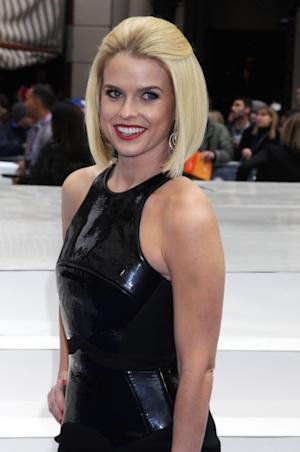 Alice Eve poses at the gala premiere of 'Men In Black 3' at The Odeon Leicester Square on May 16, 2012 in London -- Getty Premium
