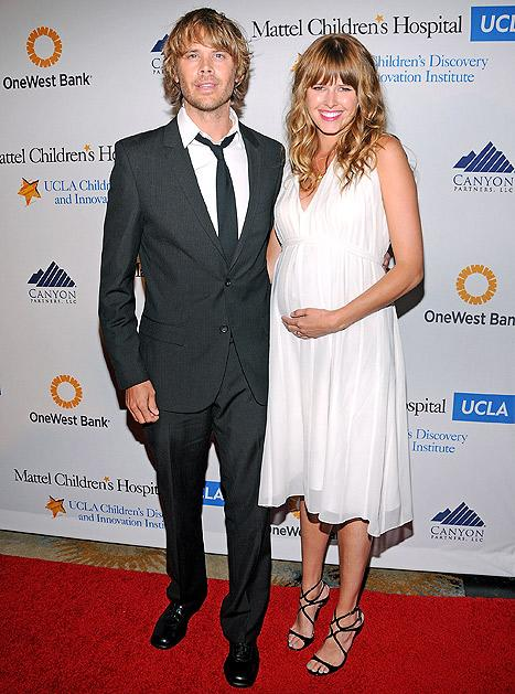 Eric Christian Olsen's Wife Sarah Wright Is Pregnant: See Her Baby Bump!