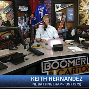 Boomer & Carton: Keith Hernandez on Mets pitching rotation