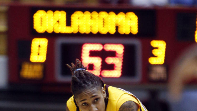 NCAA Womens Basketball: NCAA Tournament-Oklahoma vs Central Michigan