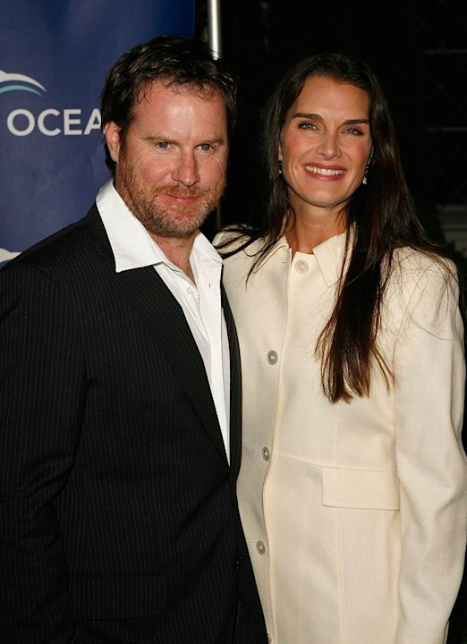 Chris Henchy and Brooke Shields arrive at the Annual Oceana Partnerís Awards Gala.