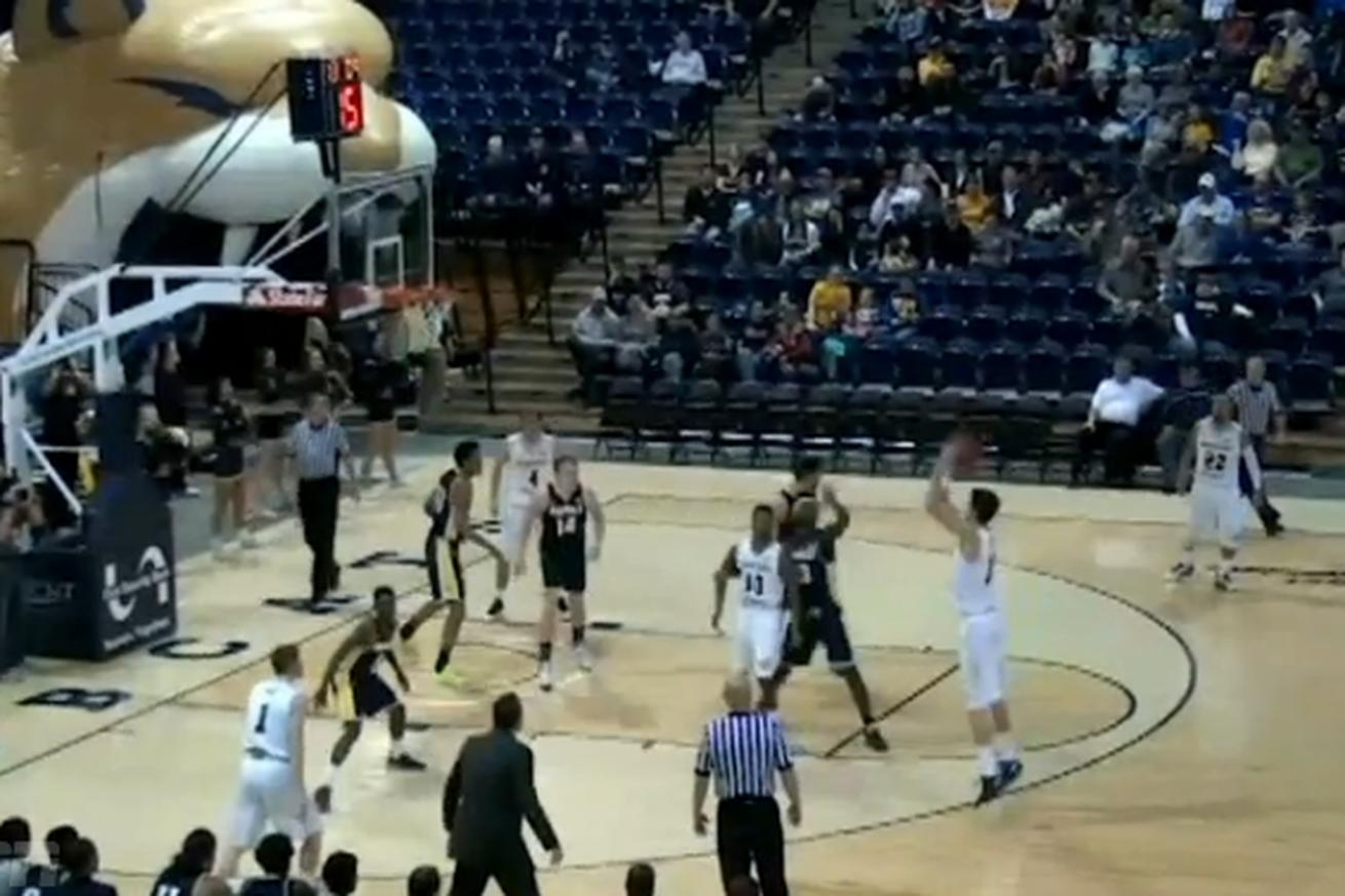 Montana State ripped 25 threes in one game against poor, helpless Northern Arizona