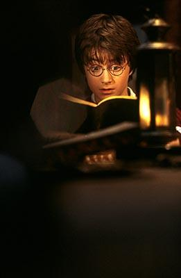 Daniel Radcliffe as Harry in Harry Potter and The Chamber of Secrets