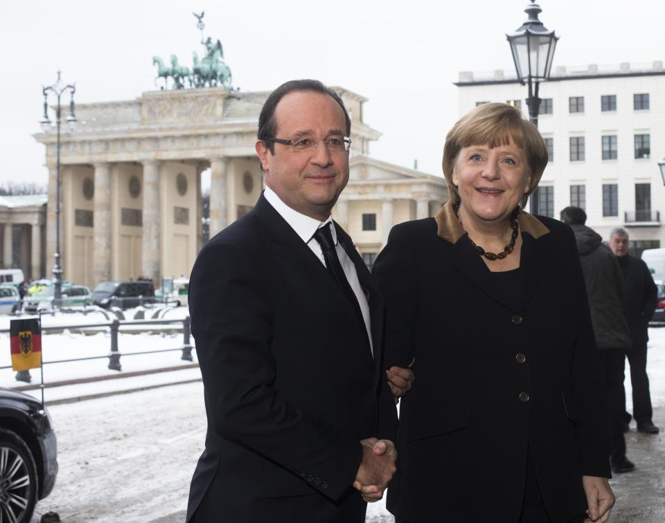 Germany, France seek unity on Europe