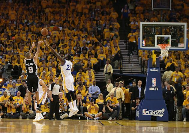 San Antonio Spurs v Golden State Warriors - Game Three