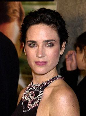 Jennifer Connelly at the Beverly Hills premiere of A Beautiful Mind