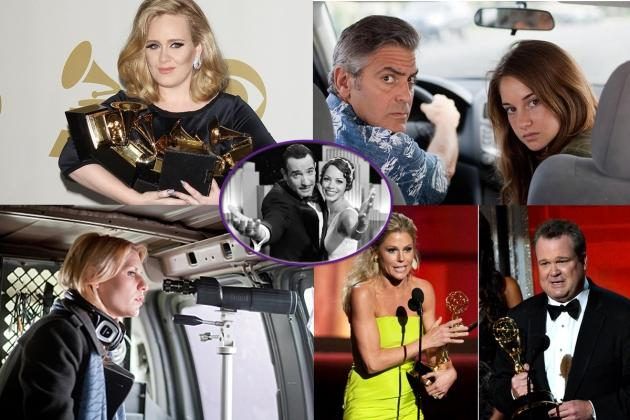 Top 12 Headlines of 2012: Award Show Roundup -- Composed by AccessHollywood.com