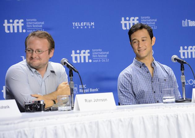 """Looper"" Press Conference - 2012 Toronto International Film Festival"