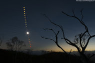 Photographer Ben Cooper caught the total solar eclipse of Nov. 14, 2012 from a hilltop west of the Outback town of Mount Carbine, Queensland, Australia.