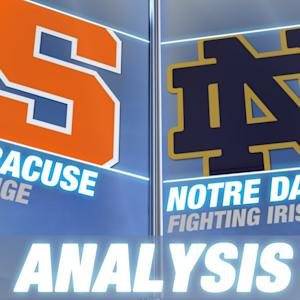 B.J. Johnson Leads Syracuse to Upset Win Over #9 Notre Dame