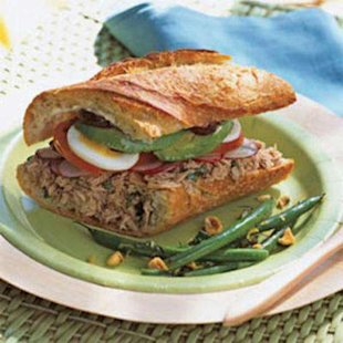 California Nicoise Sandwich