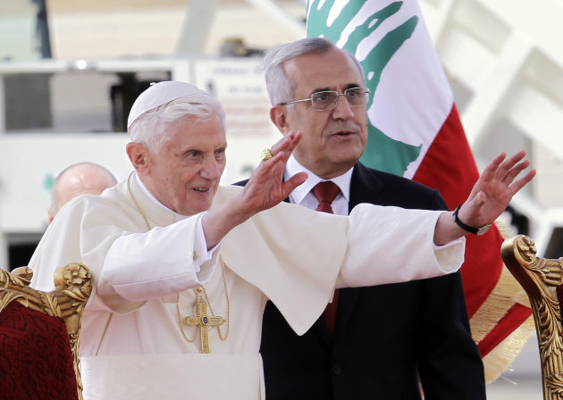 Pope Leading open-Air Mass In Beirut