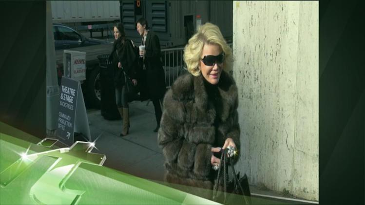 Latest Business News: Joan Rivers Curses Out WGA East