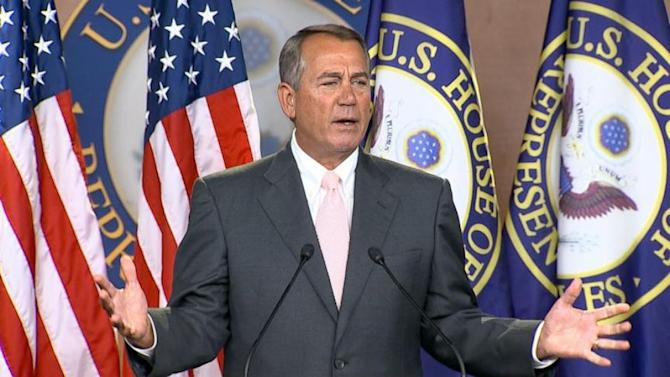 Boehner Pins Border Crisis on Obama's 'False Hope'