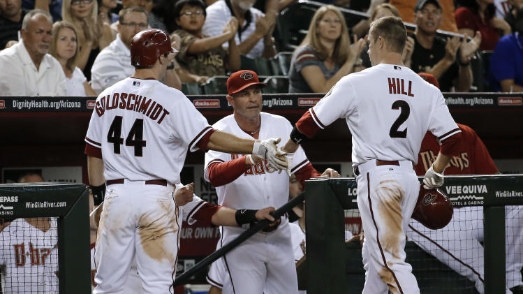 D-backs send Giants to 6th straight loss, 4-1