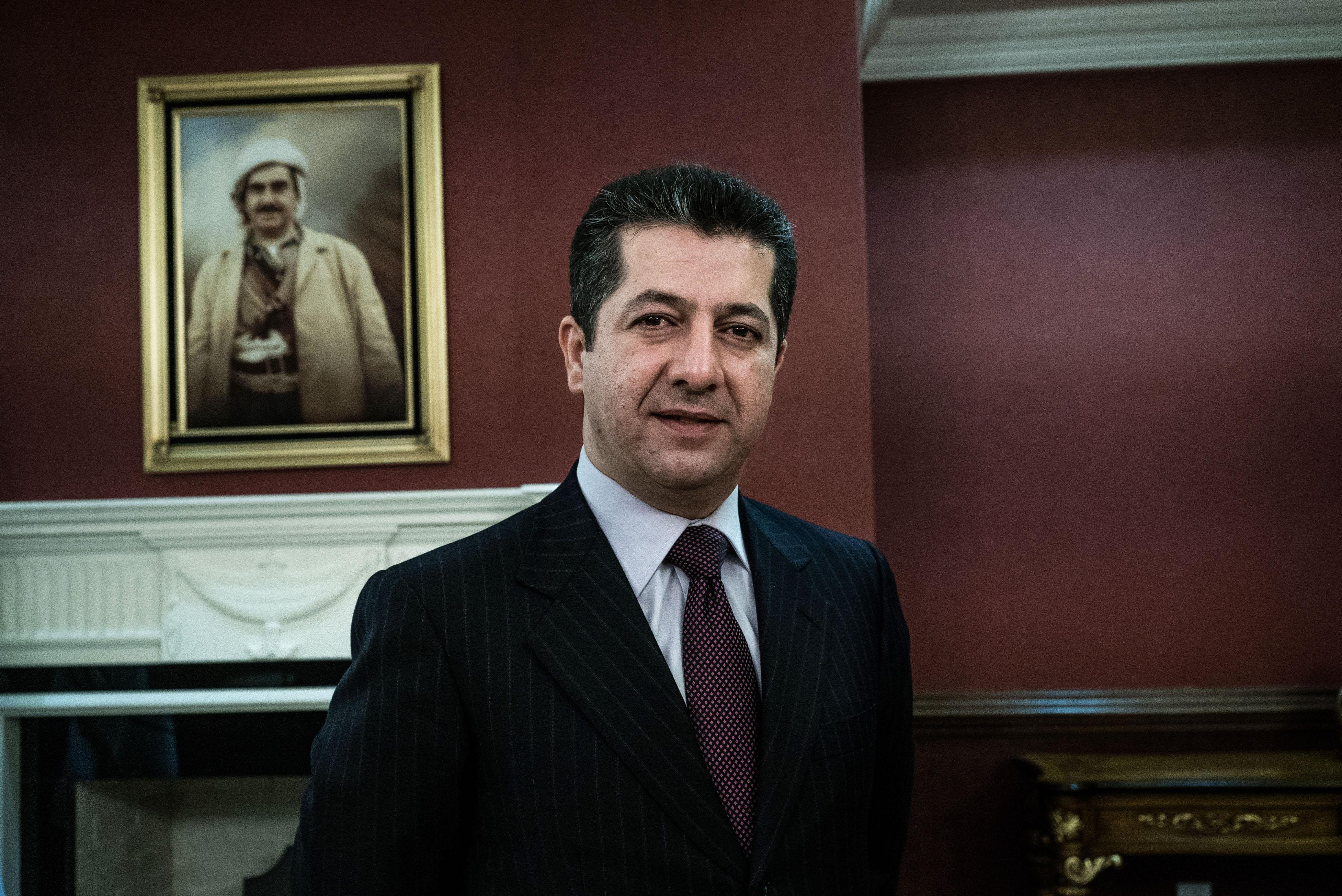 Son of Iraqi Kurdish leader calls for aid to battle IS