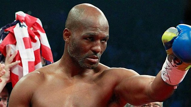 WBC light heavyweight boxer Bernard Hopkins