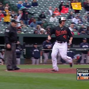 Parra's two-run double
