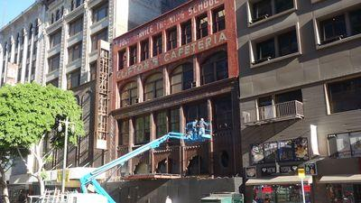Legendary Clifton's Cafeteria Unveils New Signage Downtown